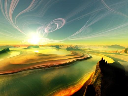 New-3D-Landscape-Background-image for desktop PC