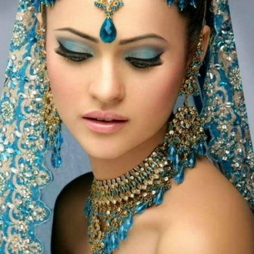 Very-beautiful-indian-bridal-jewelry-Set-In-trend-2013 2014