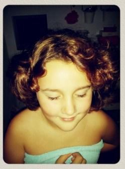 """""""Mam, mijn haar zit echt be-la-che-lijk!"""""""