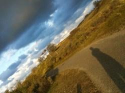 Er waren mooie luchten.