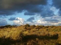 We namen even een pauze om de wonderlijke wolkenpracht te bekijken.