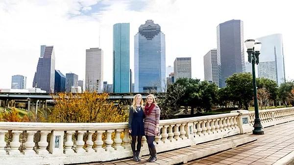 Where to Take Pics of Downtown Houston