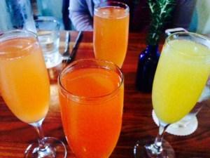 zelko bistro, mimosas, blood orange mimosas, brunch