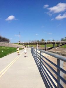 White Oak Trail along TC Jester