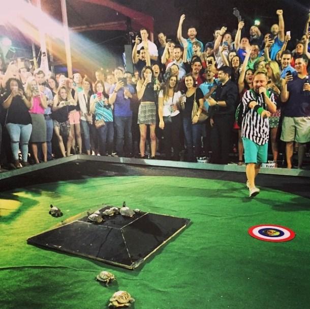 Turtle Racing Little Woodrow's Midtown Houston