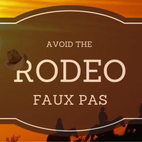 What NOT to do at the Houston Livestock Show and Rodeo