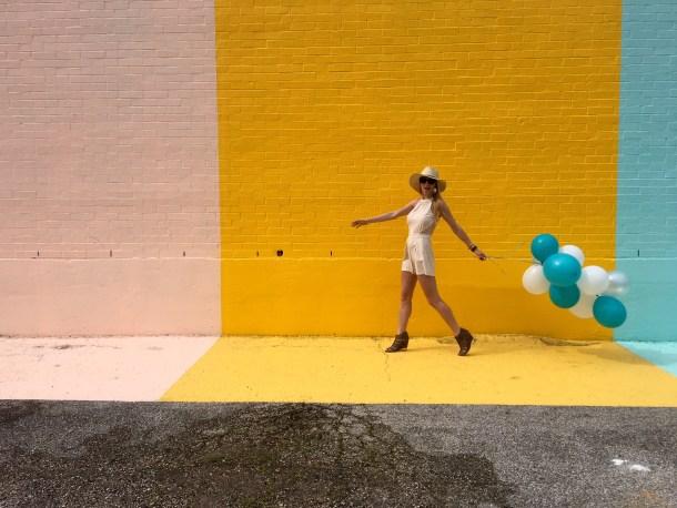 Sugar and Cloth Color Wall