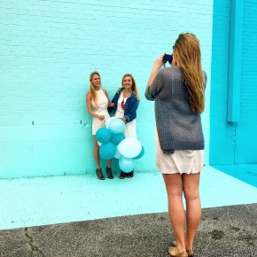 How to Have a Photoshoot at the #SugarandClothColorWall