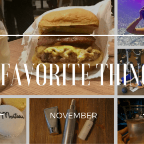 5 Favorite Things: November
