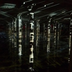 "Inside the Buffalo Bayou Cistern ""Rain"" Exhibit"