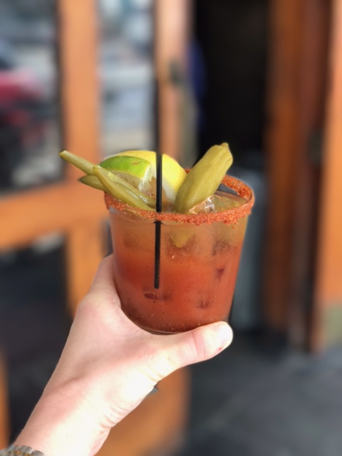 Chimes brunch Baton Rouge Bloody Mary