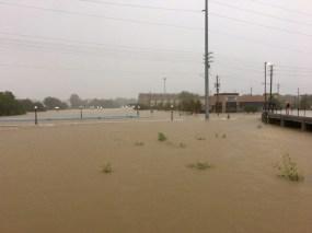Houston Flood Yale Street I-10 Hurricane Harvey