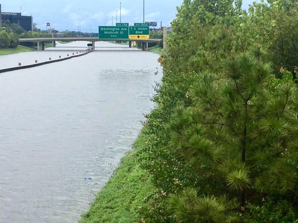 Houston Flooding Harvey Heights Yale I10