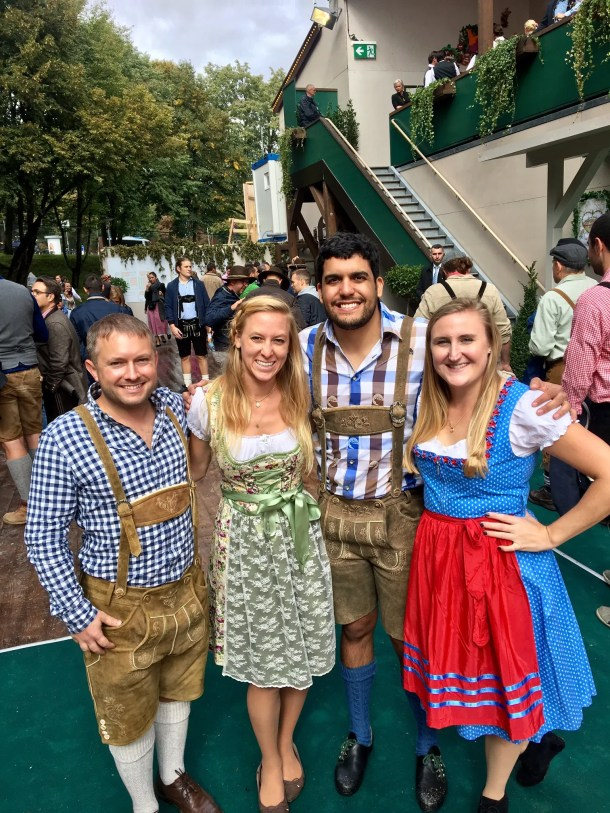 how to get into oktoberfest tents munich