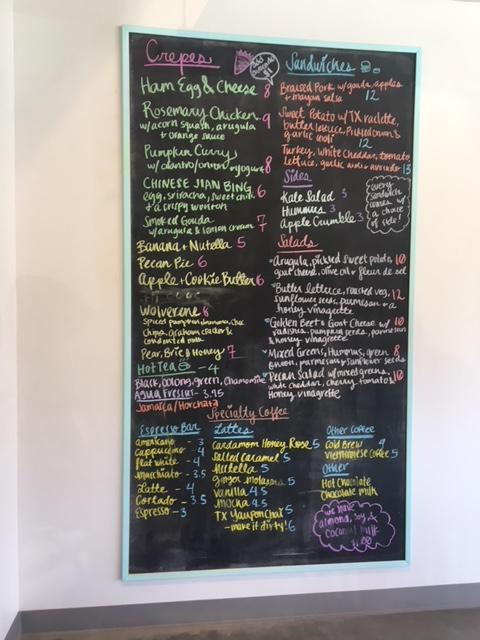 melange creperie menu houston heights
