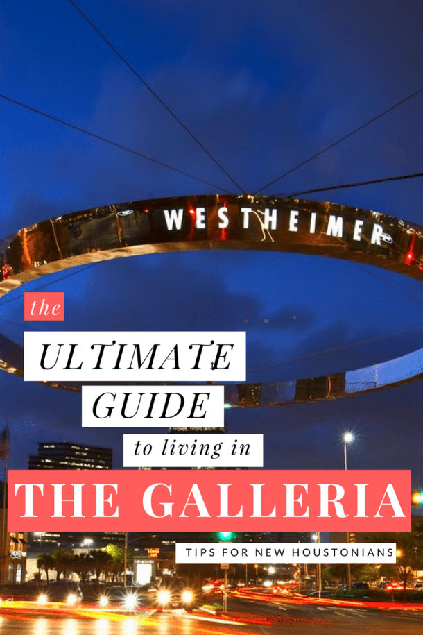 where to live the galleria houston
