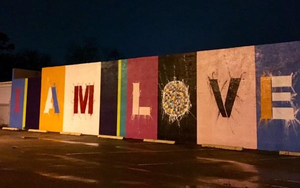 i am love wall location houston