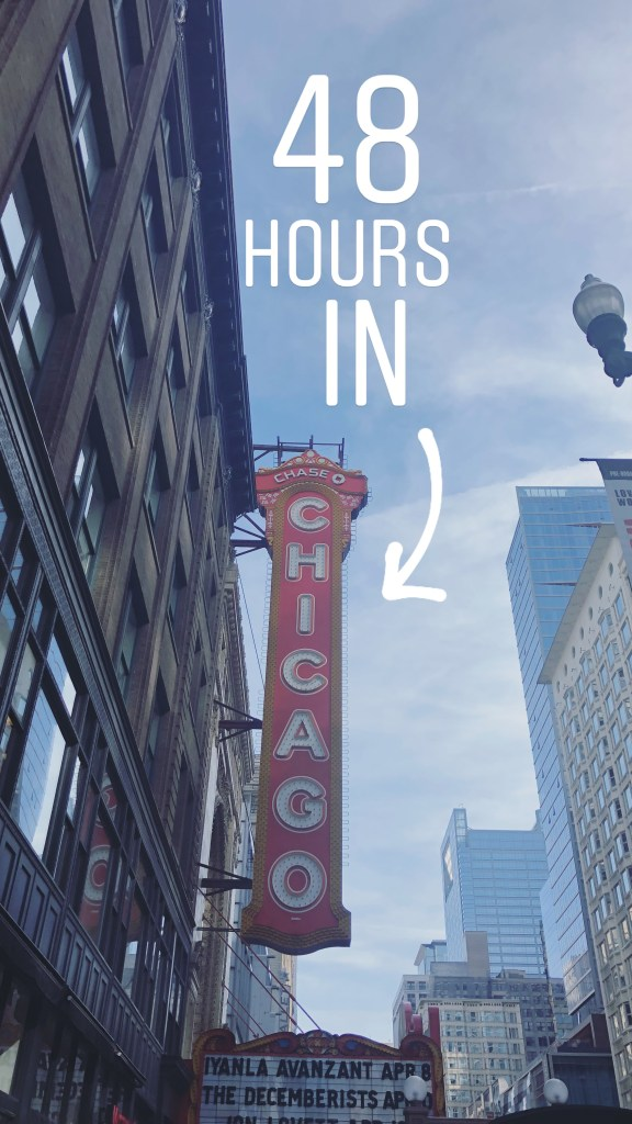 A weekend guide to: Chicago // It's Not Hou It's Me