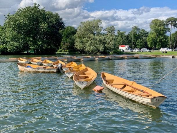 rent boats Bois de Boulogne