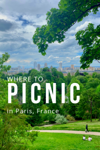 where to picnic in paris