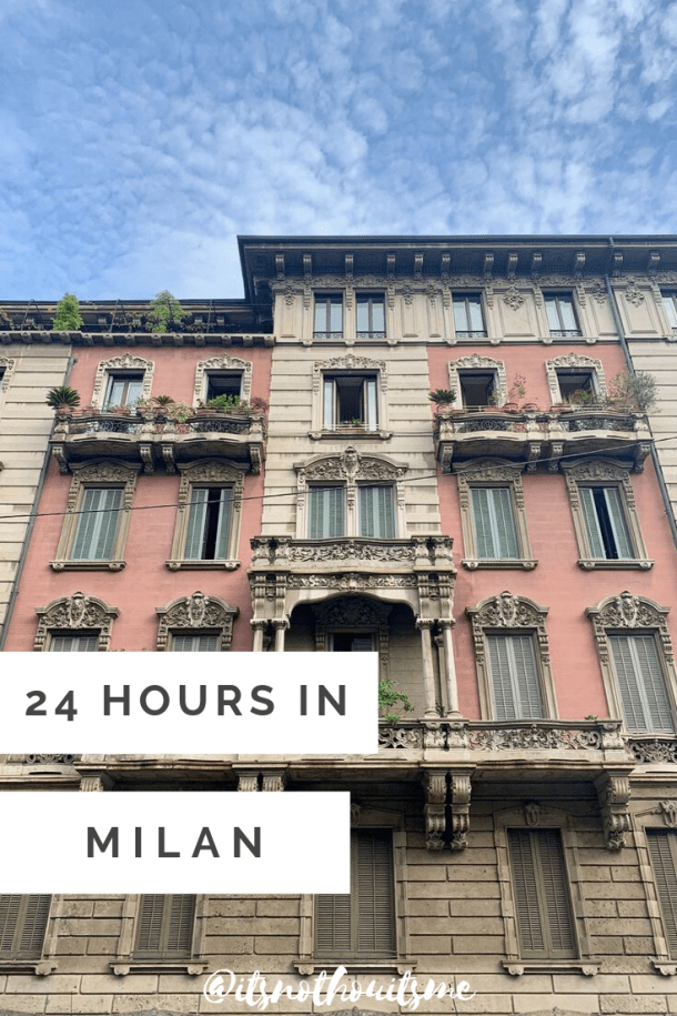 milan in 24 hours