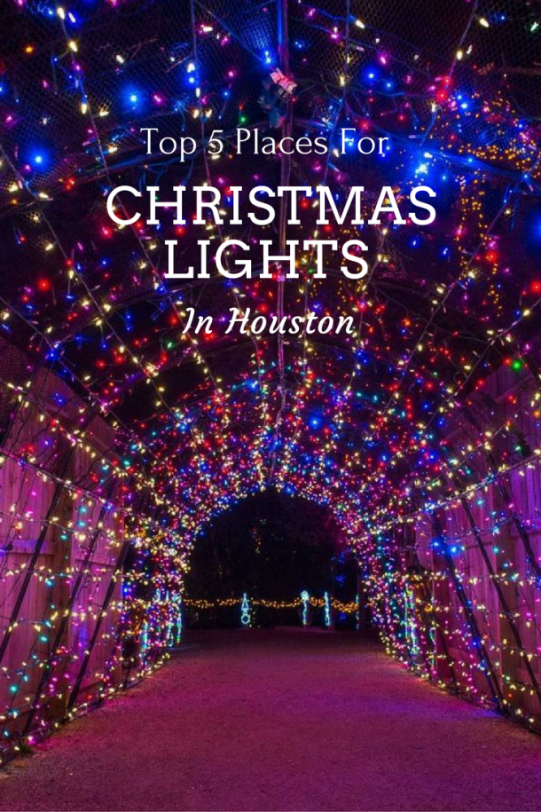 best christmas lights in houston