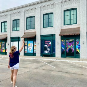 Goodnight Hospitality Brings Color to Montrose With Mini Murals