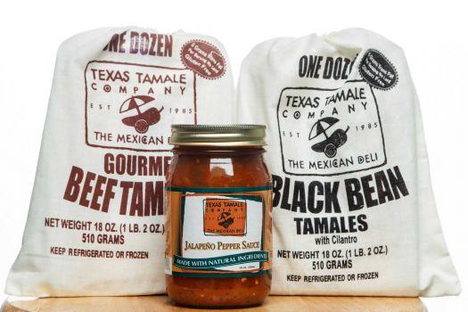 Texas Tamale Samplers, $55-108