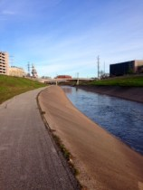 Brays Bayou Trail West (right behind MD Anderson)