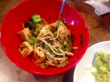Genghis Grill Houston bowl
