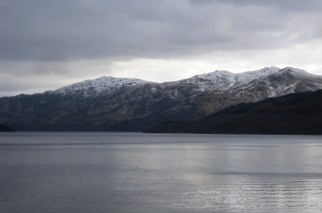 Mountains from Inversnaid