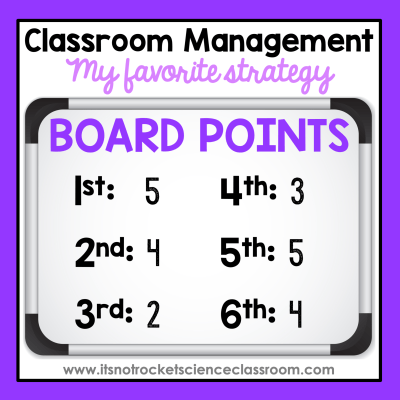 It can be challenging to determine a classroom management strategy in the high school setting. Secondary students care much less about impressing their teacher than elementary do. This is one of my favorite tips for classroom management that I found success with over and over again with my high school students.