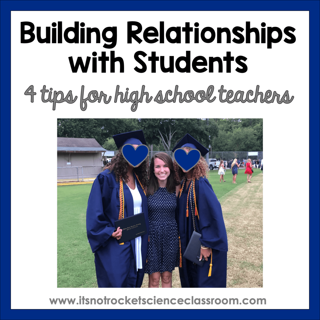 building relationships with students