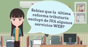 Aplicaciones WEB, y otros servicios excluidos IVA 2017