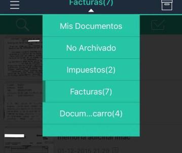 Categorías de los documentos