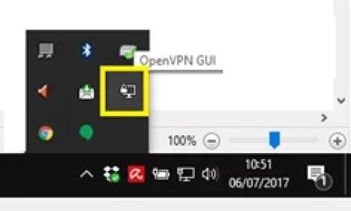 Ejecución del Cliente OpenVPN