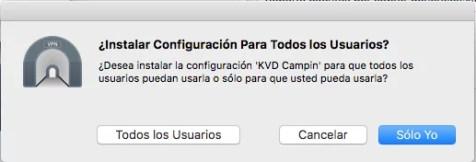 Instalacion Certificados OpenVPN todos los usuarios