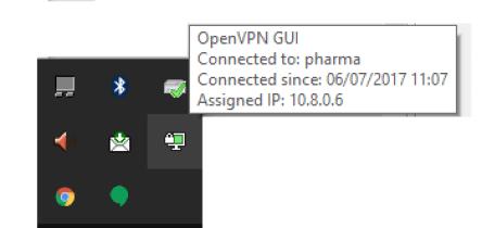 VPN Conectada Normalmente