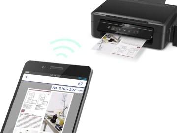 Impresora epson inalámbrica