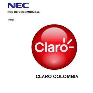Claro Colombia para NDC