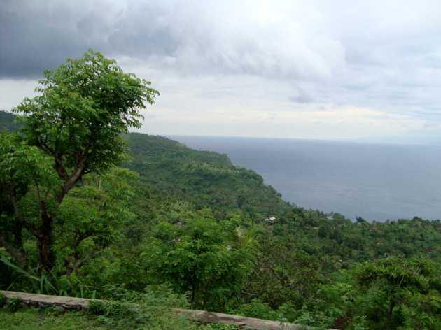 Восточное побережье Бали. Дорога в Амед.