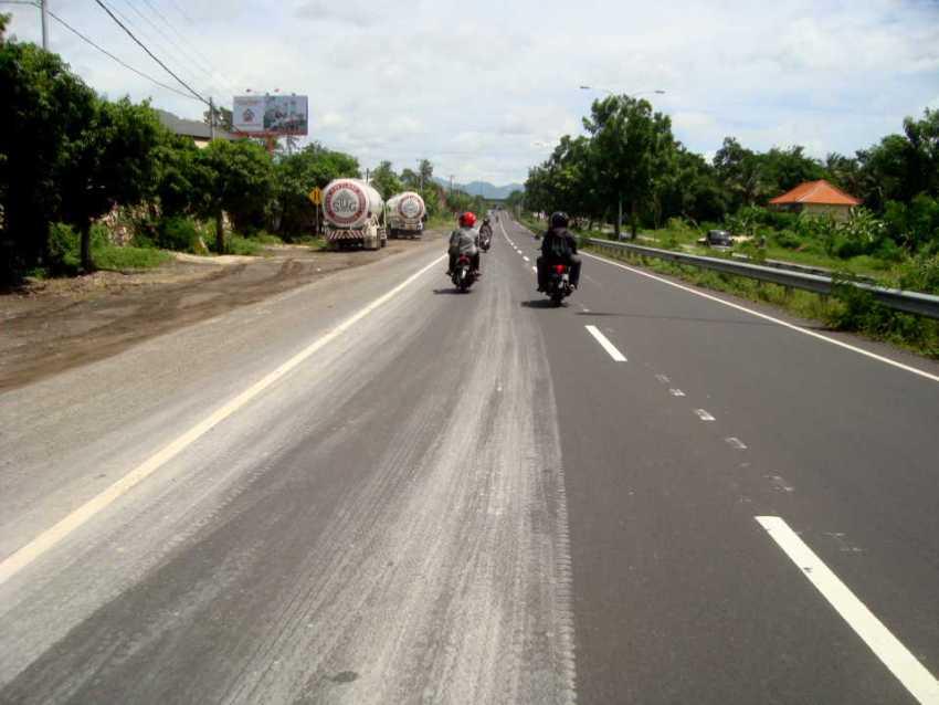 Дорога в деревню Амед