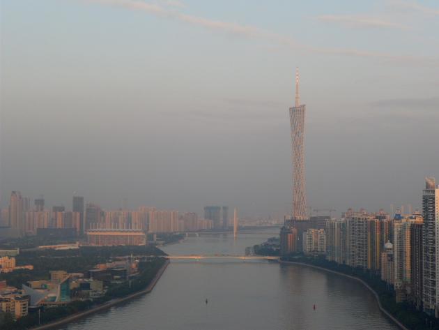 Современный Кантон. Велопрогулки по Гуанчжоу