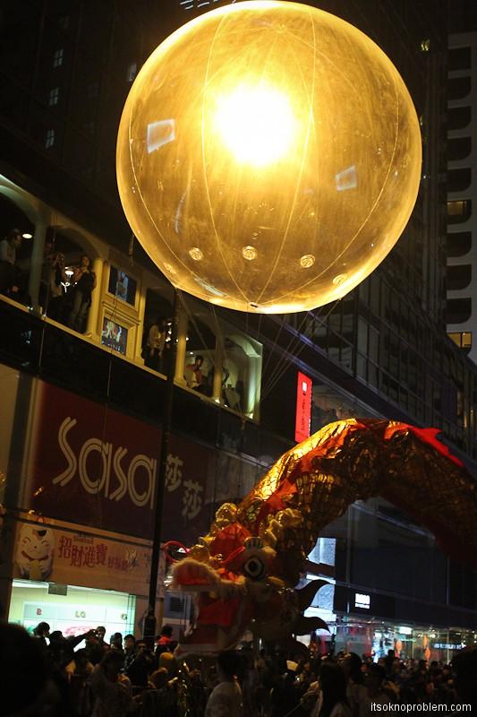巡游中国农历新年在香港