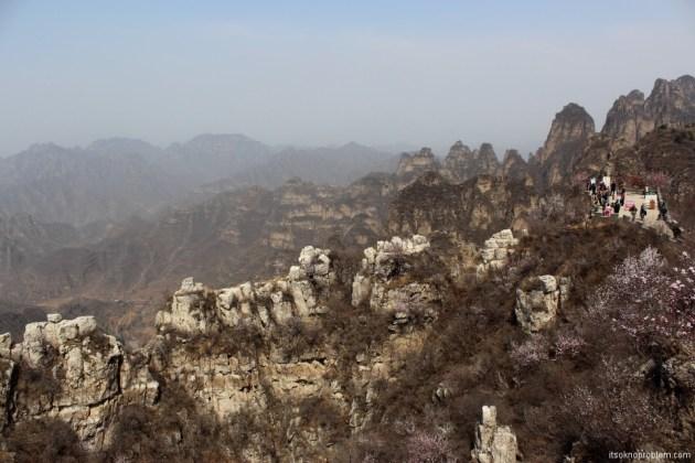 Пять героев гора Ланья. Острые пики