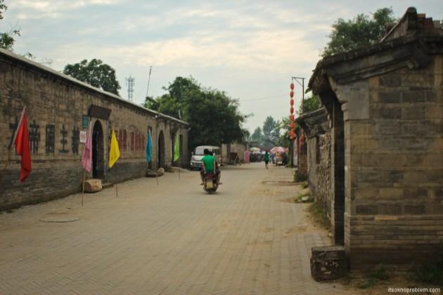 Партизанские тоннели в городке Жаньчжуань