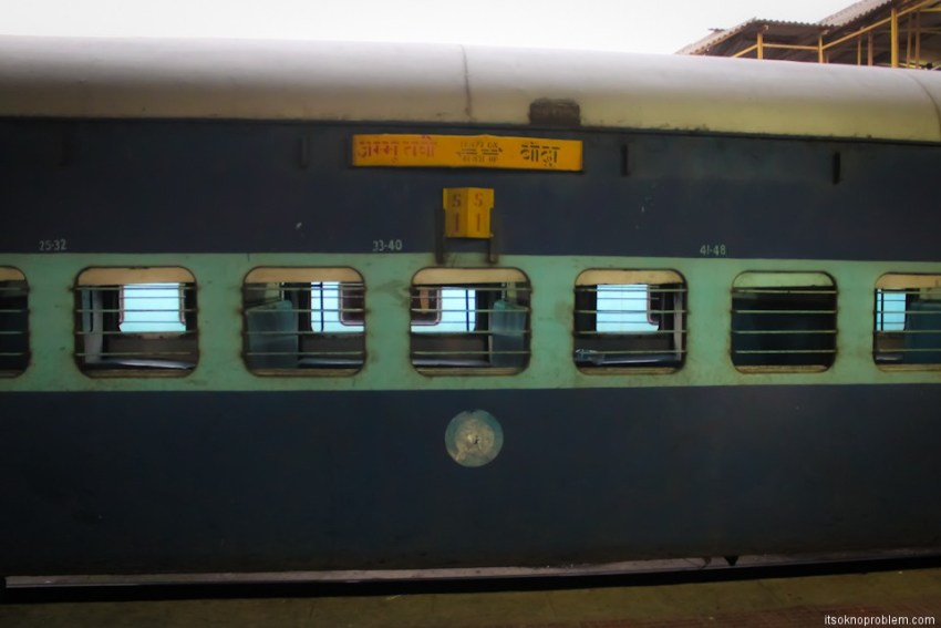 The train from Delhi to Mumbai