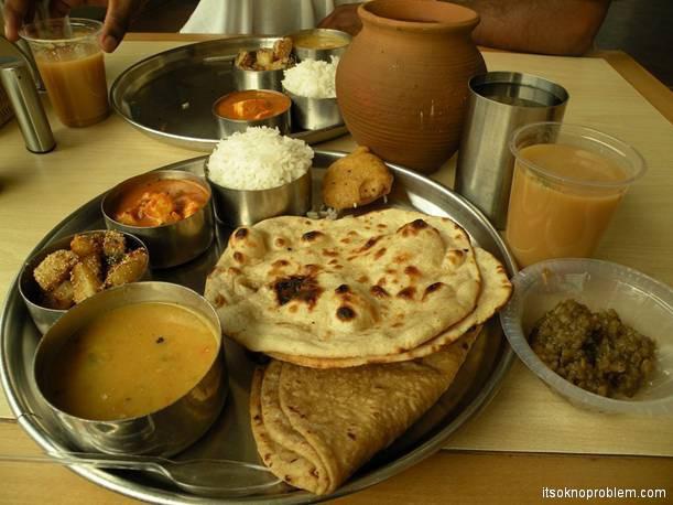 Tasty Week. India. Maharaj gave