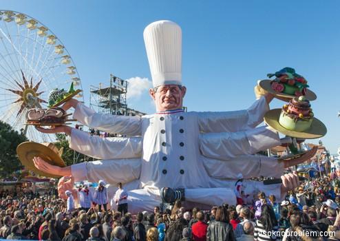 карнавал в Ницце Франция