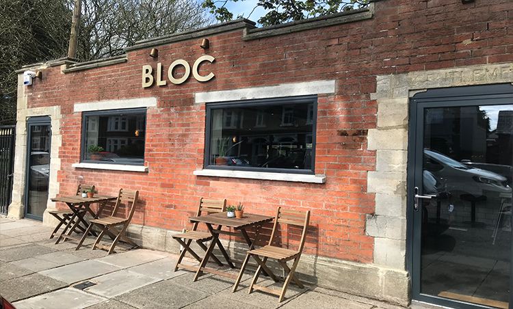 Bloc Coffee shop transforms an old toilet block on Victoria Park